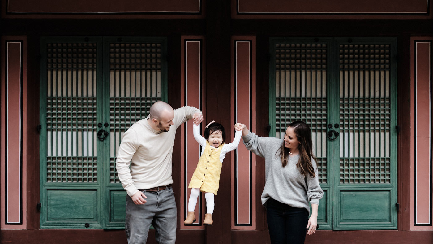 Adoption Family Photography in Seoul - Osbeck