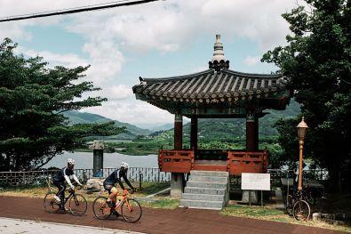 Seomjin River Rest Stop - Cycling Korea