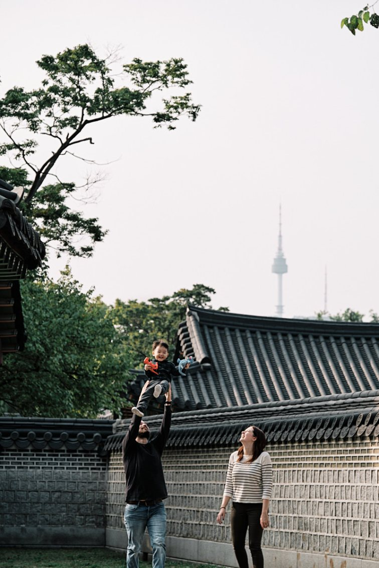 Seoul Tower and Changdeokgung - Family Photos