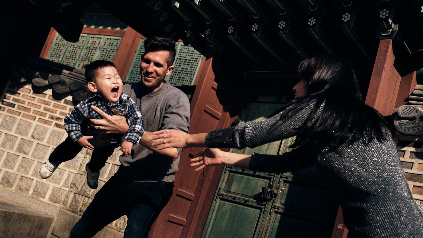 Saunders Family Photos - Changdeokgung, Seoul, Korea