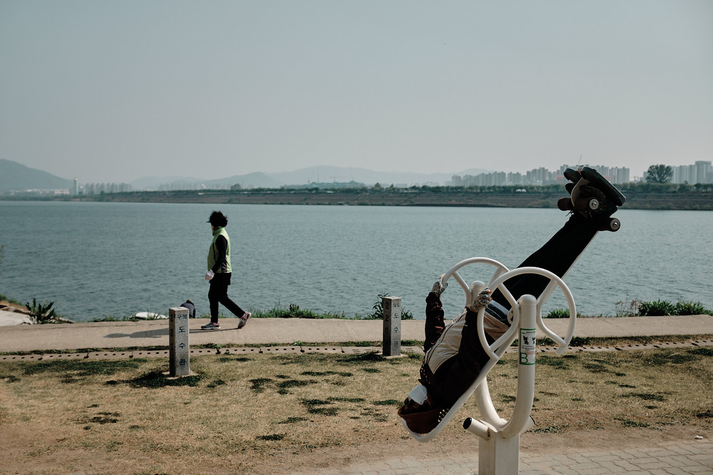 Exercise on the Han River