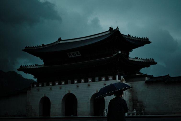 Stormy Day at Gyeongbokgung