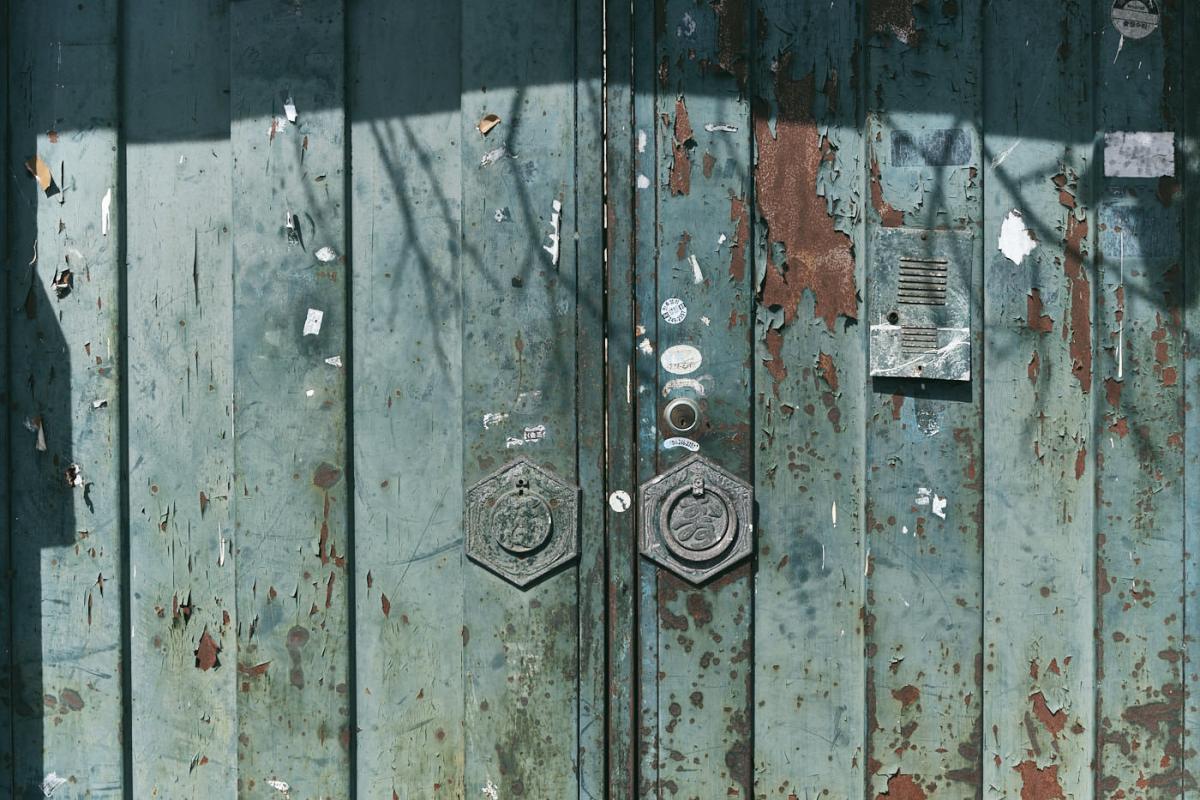 Old Door - Jeonju, Korea