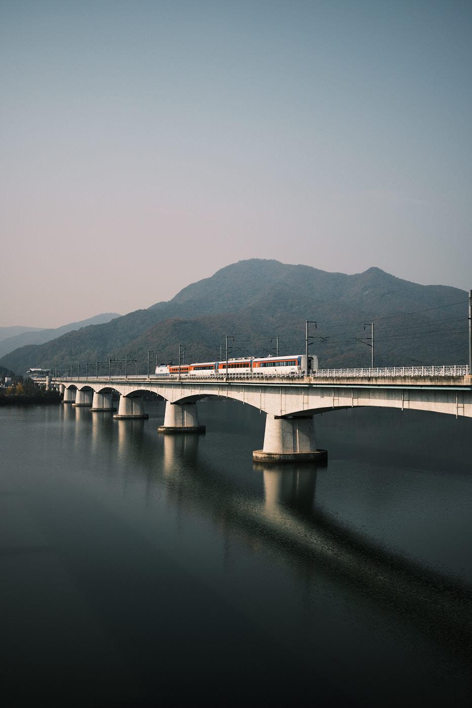 Yangsu Railway Bridge - Korea Cross Country Cycling