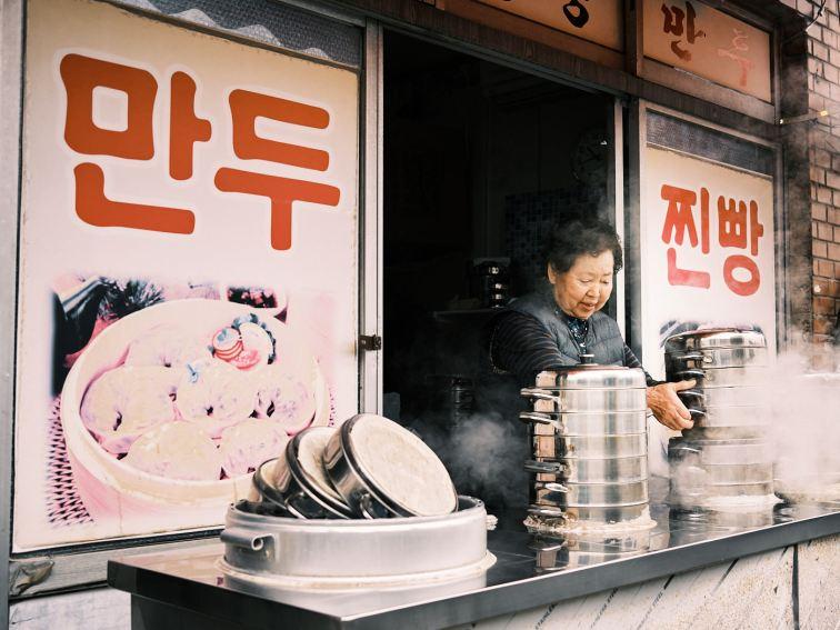 Dumplings - Korea Cross Country Cycling
