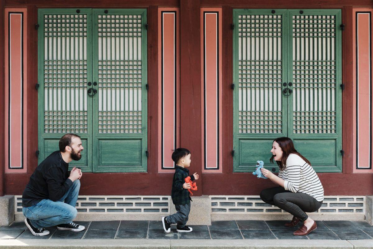 Seoul Photographer - Martin Family