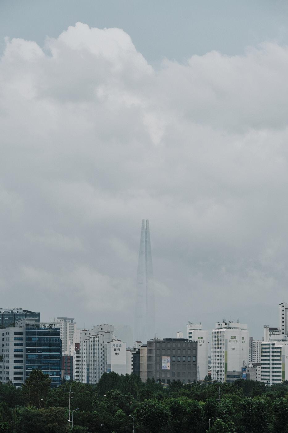 Lotte Tower - Seoul Floods 2020