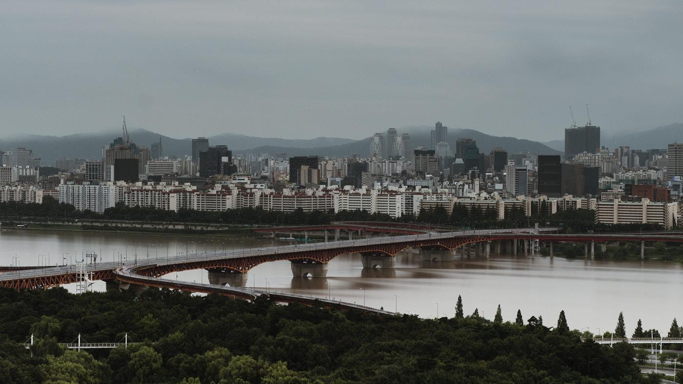 Han River - Seoul Floods 2020