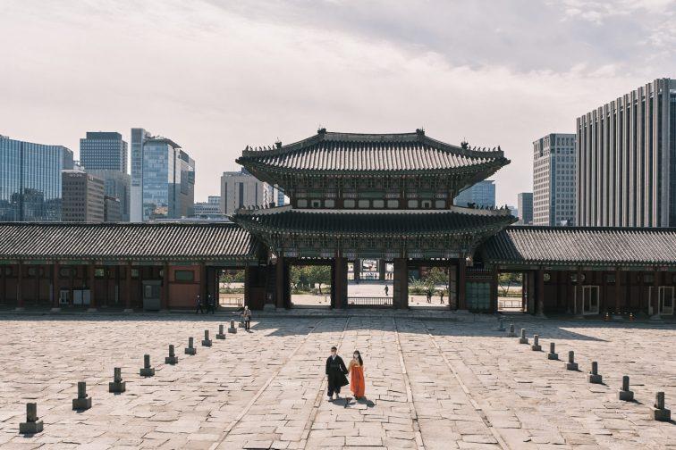 Gyeongbokgung and CBD - Seoul Editorial Photographer