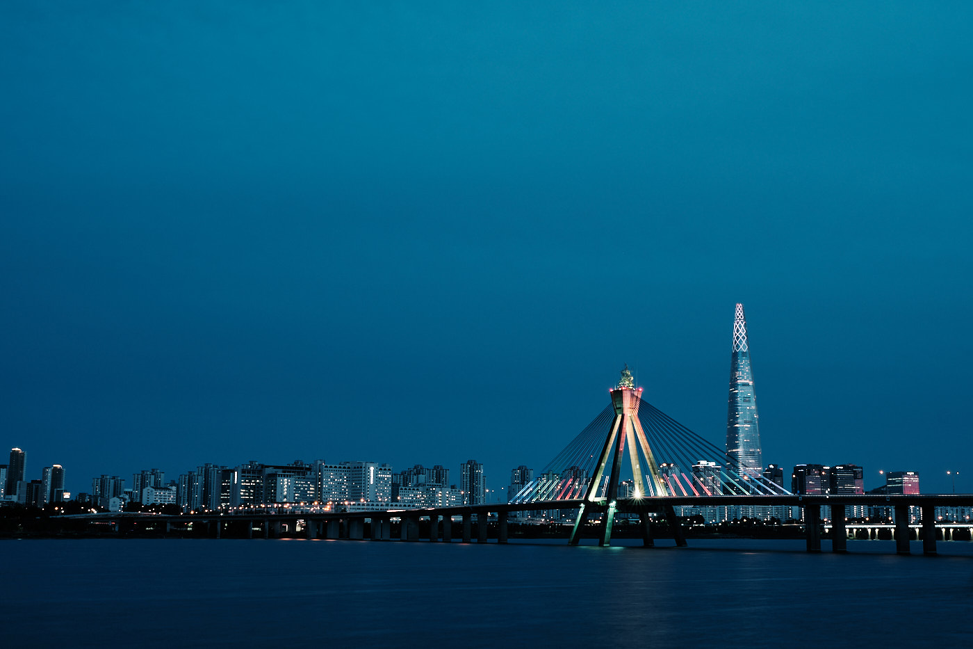 Olympic Bridge and Lotte Tower
