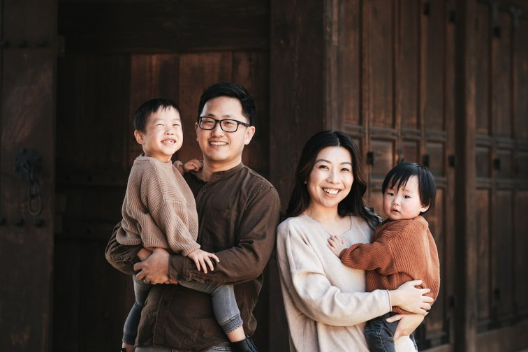 Family Photos in Seoul - Chen