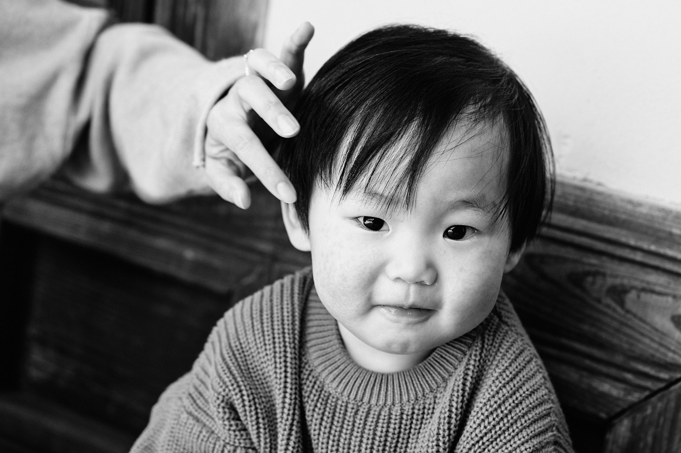 Milo's Smile - Seoul Family Photographer