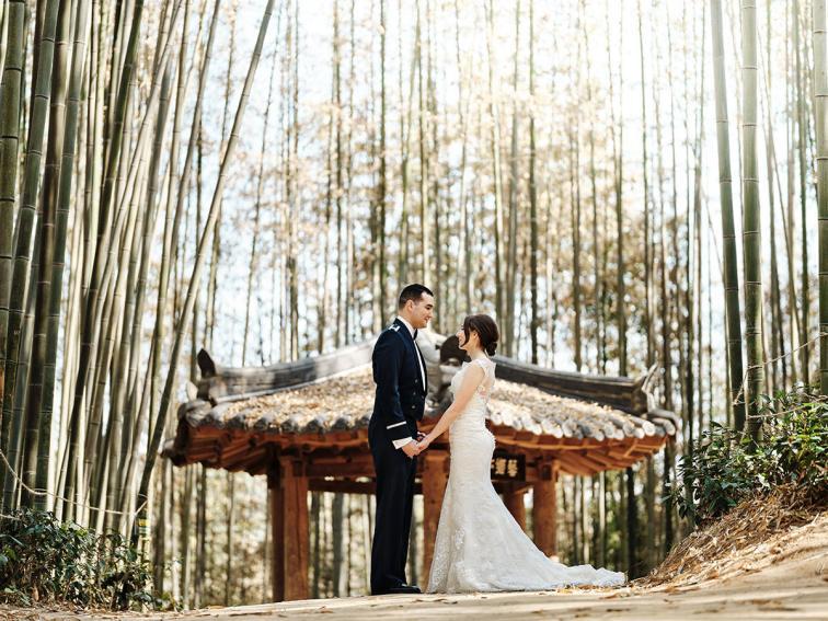 Damyang Bamboo Forest Pre-Wedding - Samantha and Fernando