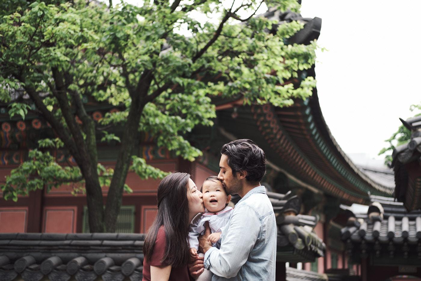 Kisses are Fun - Maliha's Family Photos
