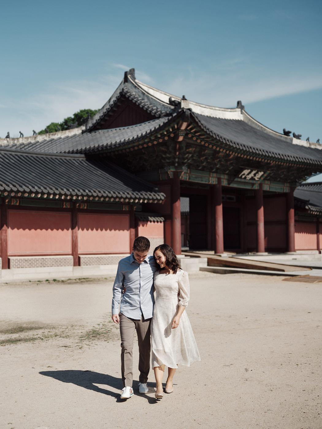 Changdeokgung Couple Photography