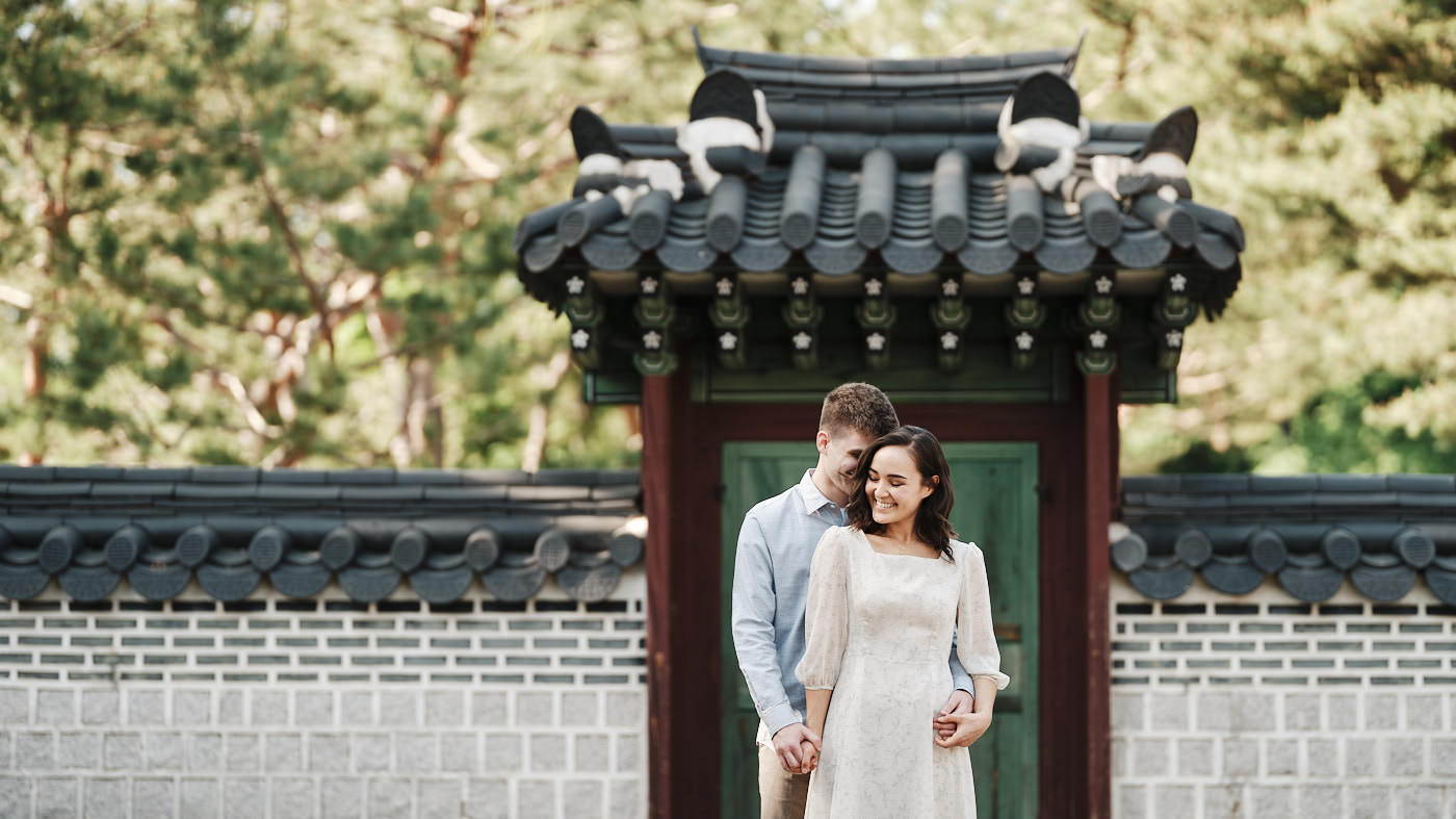 Seoul Pre-Wedding Photo Shoot with Derek and MJ