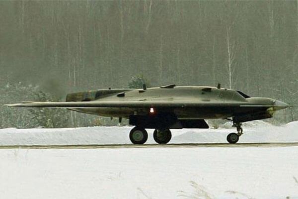 russia hunter drone