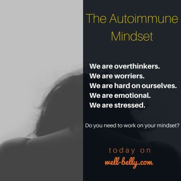 We are over thinkers.We are worriers.We are hard on ourselves. We are emotional.We are stressed.