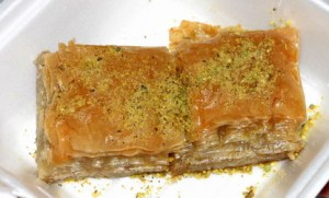 More sweets - great baklava