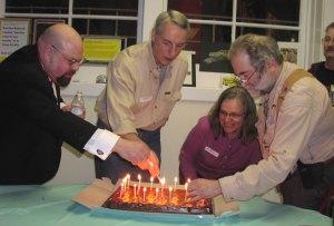 Lighting the cake: mcb, ode, gail, flash, jbk