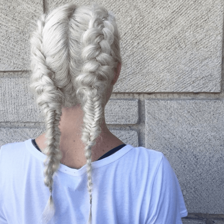 Boxer Braid Workout Hairstyle How To WellGood