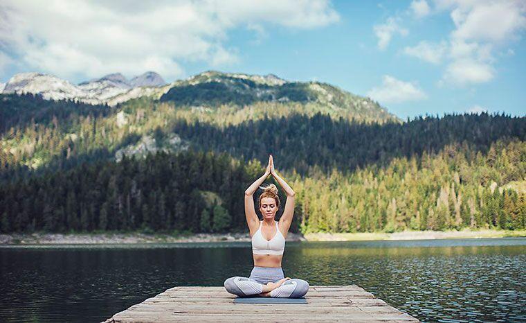 Tham gia yoga retreat, bạn sẽ có cơ hội chiêm nghiệm về bản thân
