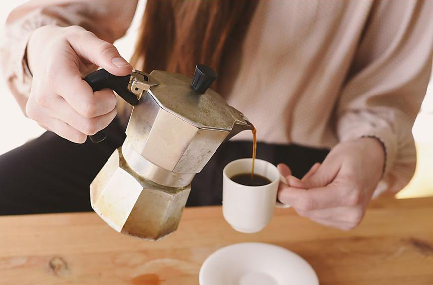 Is it ok to drink coffee when you're sick?