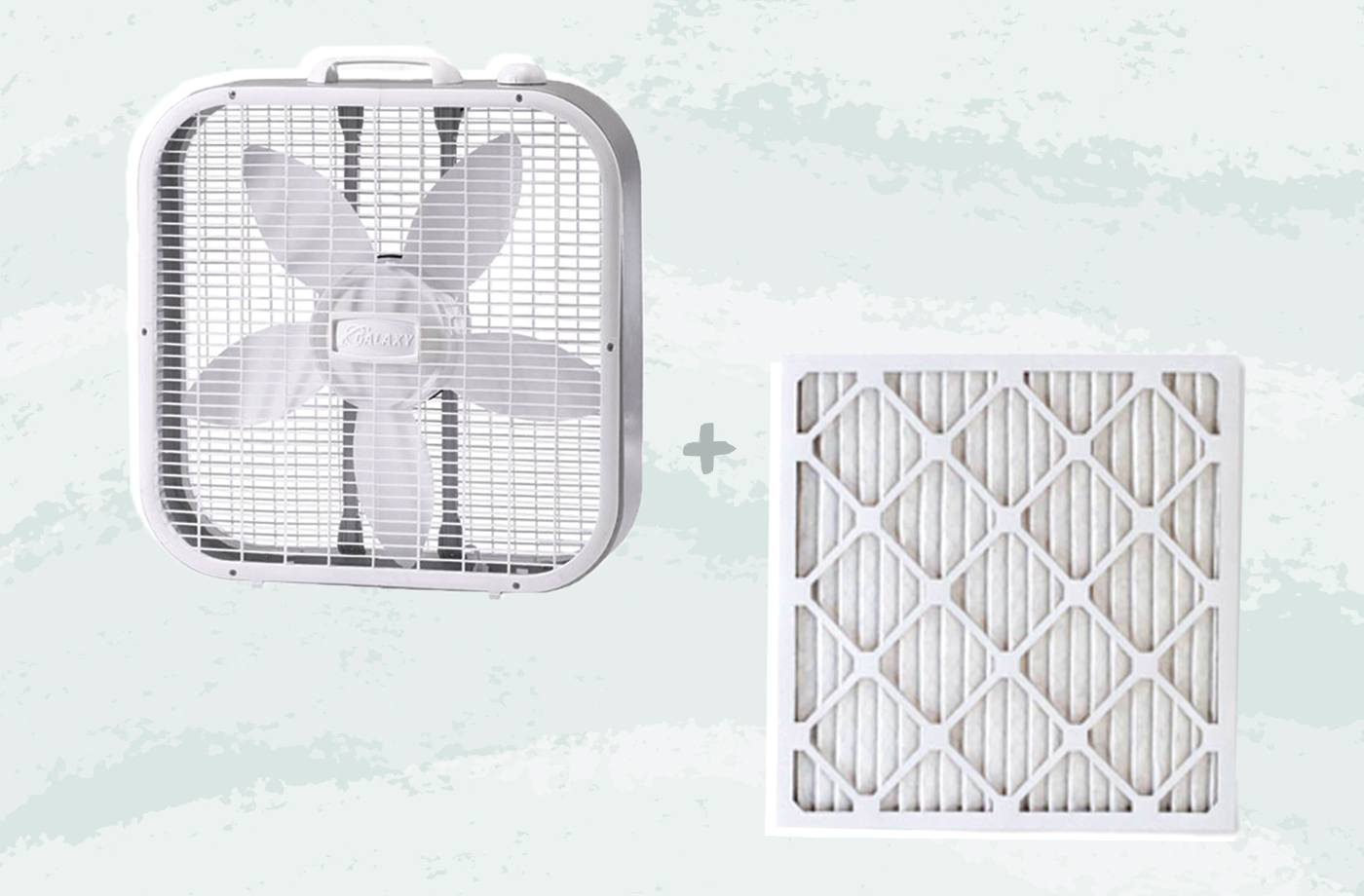 How To Diy Air Purifier With A Box Fan And Filter