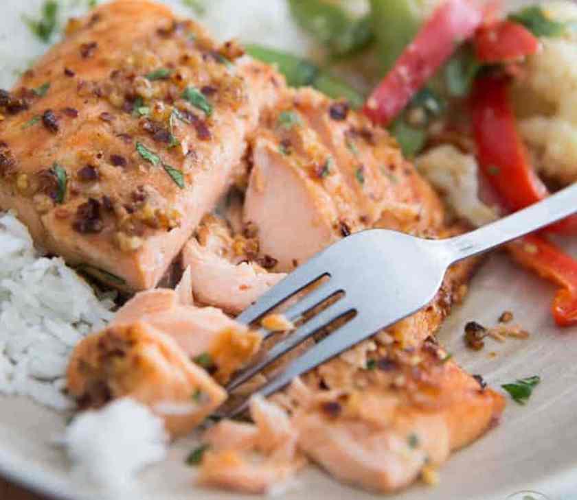 healthy salmon sauce
