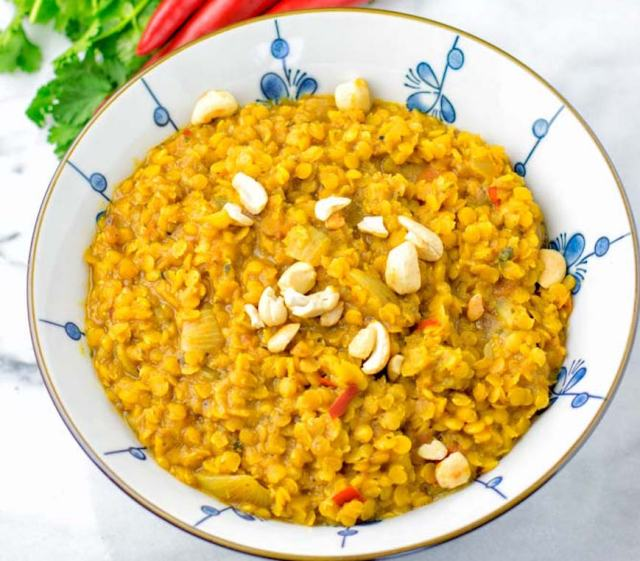 high-protein dal