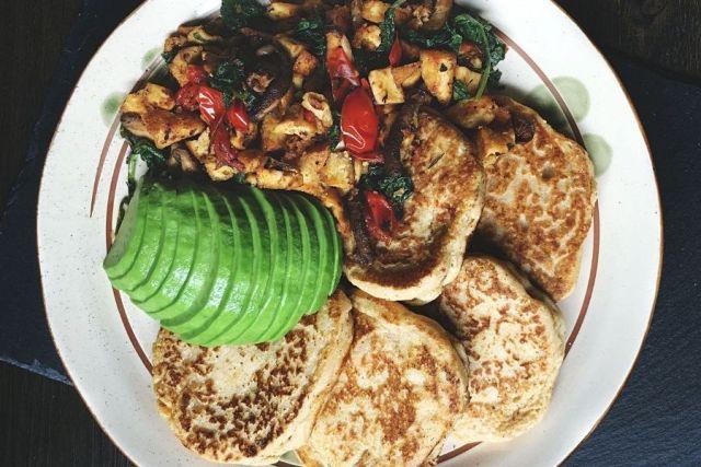 Gluten-Free Savory Breakfast Pancakes, savory pancake recipes