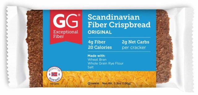 gg scandinavian fiber crispbread