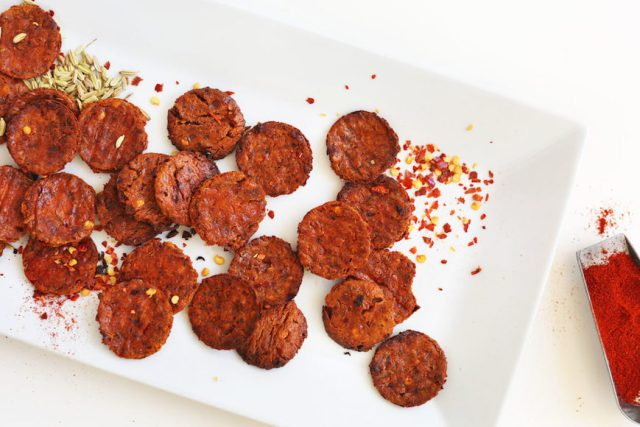 vegan pepperoni recipe