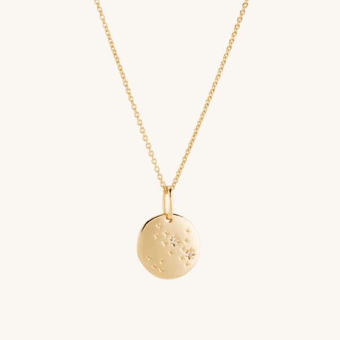 Mejuri Zodiac Necklace