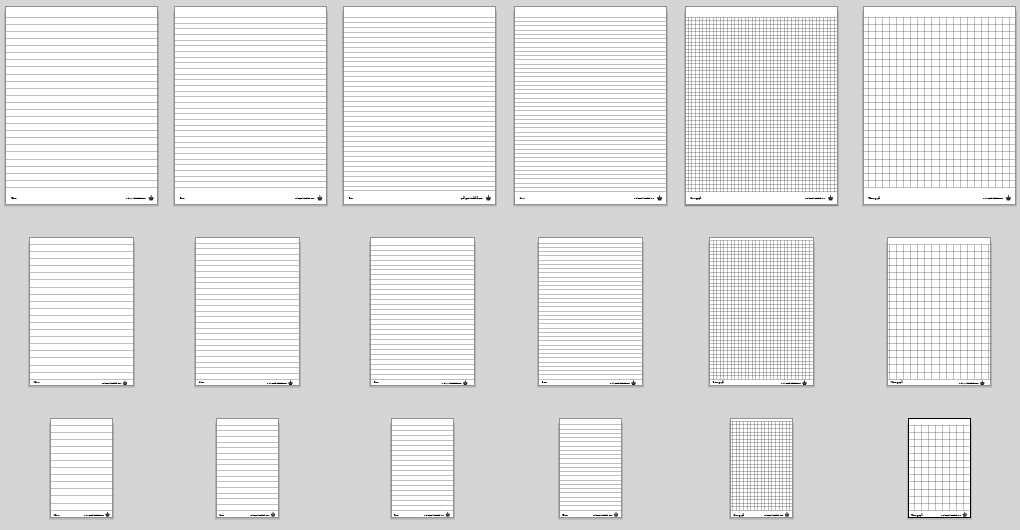 Ruled Notebook Paper Template printable paper isometric notebook – Printable Lined Notebook Paper