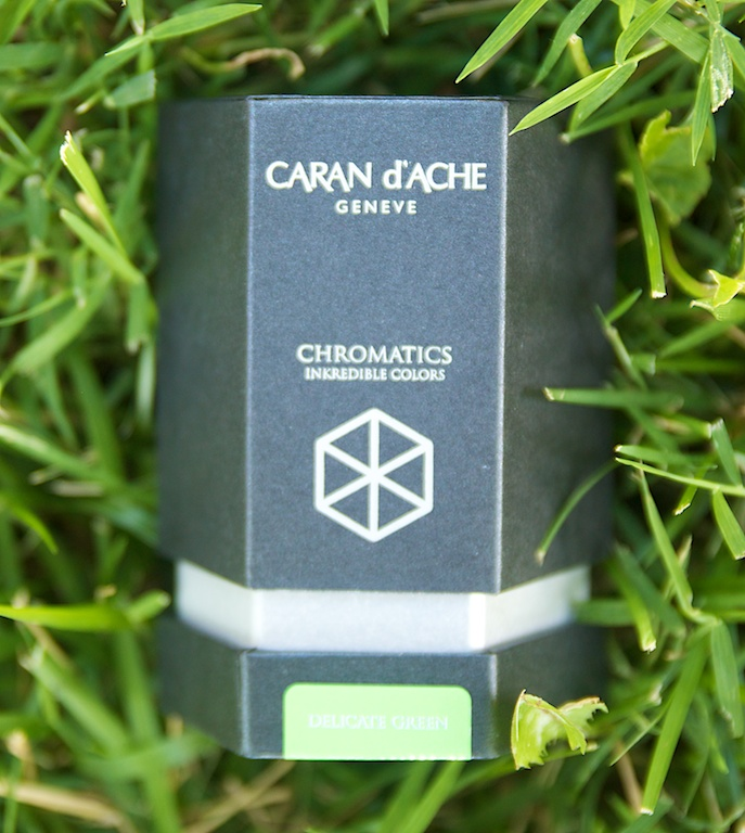 Caran D'ache Chromatics Delicate Green Ink