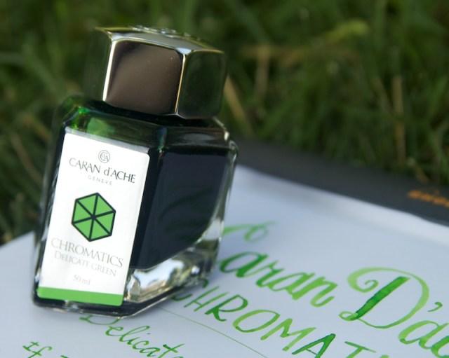 Caran D'ache Chromatics Delicate Green Ink