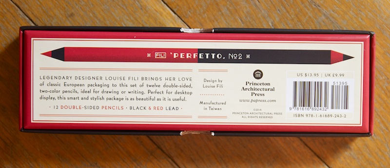 Perfetto Pencil box notes