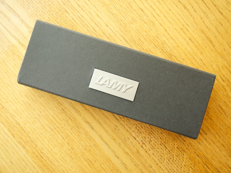 Lamy Accent Fountain Pen box packaging