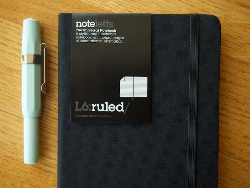 Noteletts L6 Ruled cover