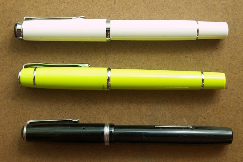 Pelikan M205 comparison