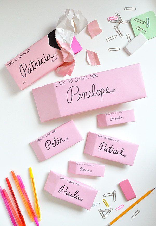 Eraser package