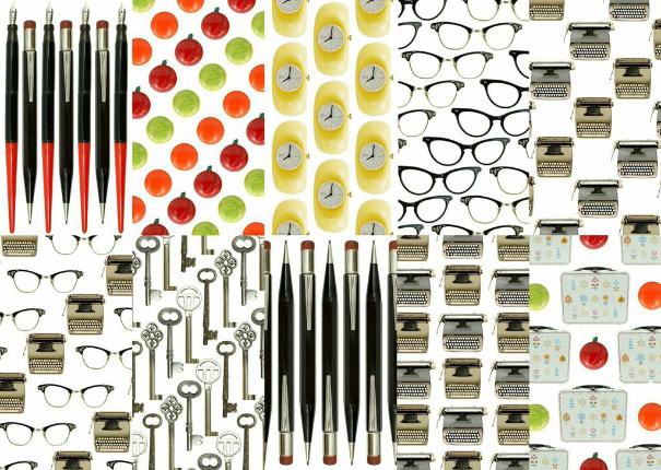 Back-to-school desktop patterns Rebecca Squirrel Junkie