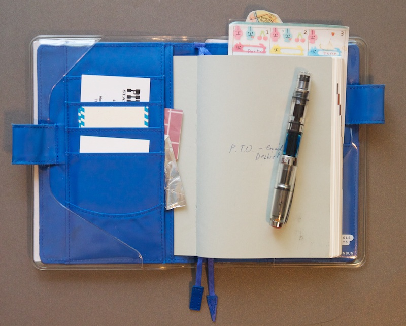 My Hobonichi Techo Planner 2014 inside front cover