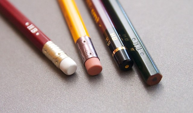 Japanese pencils end caps