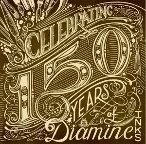 Diamine 150 years ink