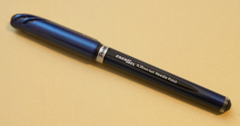 Pentel Energel 0.35 Needle Point