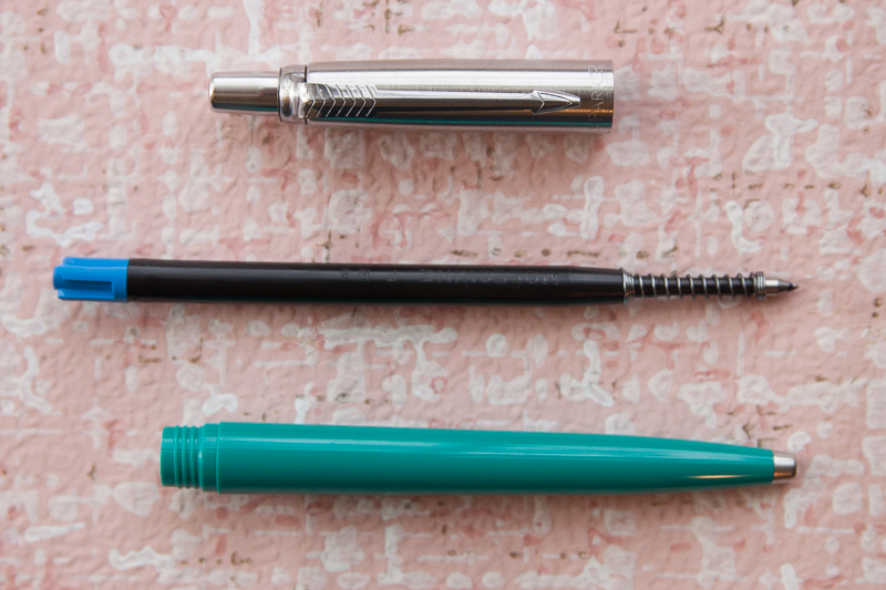 Parker Jotter disassembled