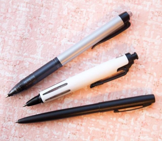 Uni Power Tank pen 0.7 comparison