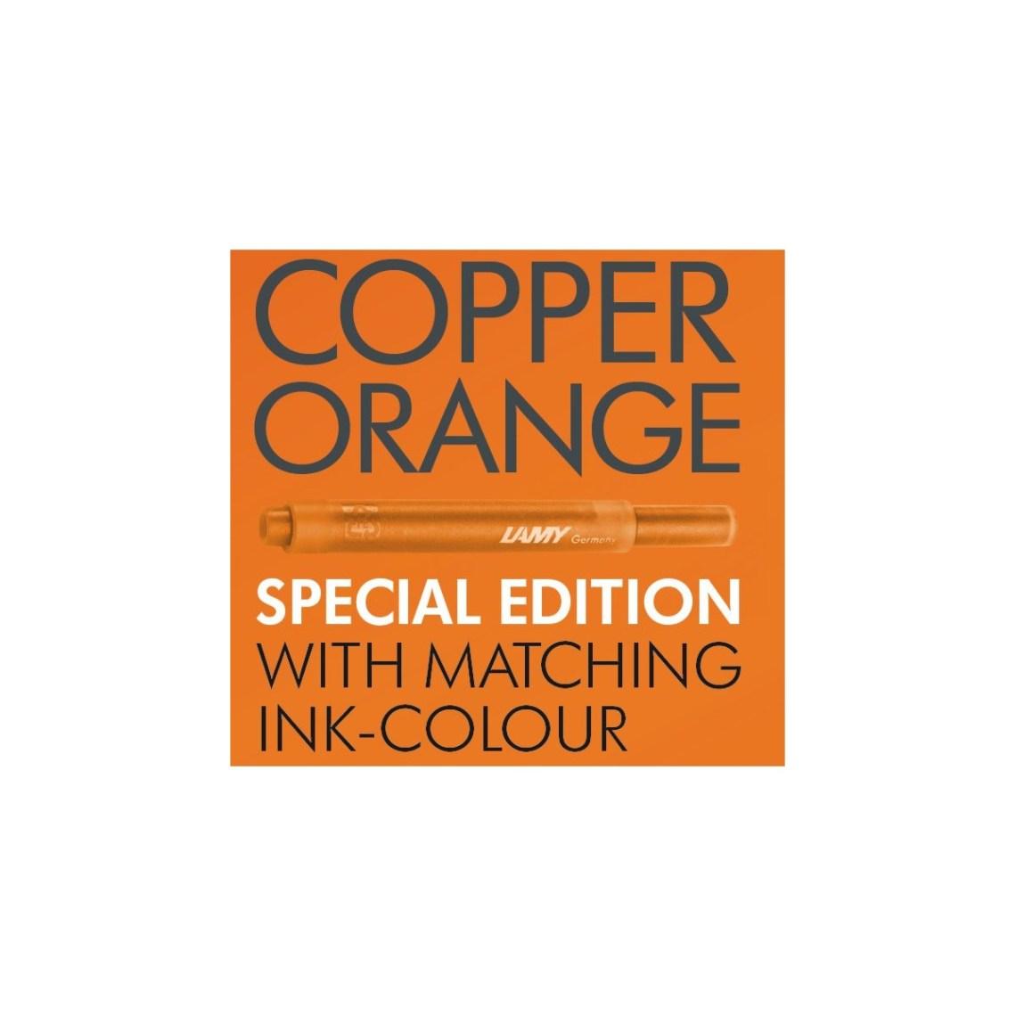 Lamy Al-Star Copper Orange Ink